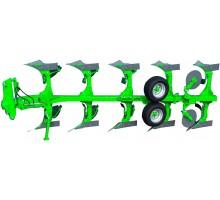 AGN 11-440 Плуг навісний оборотний 4 корпусний ( зрізні болти )