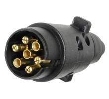 E1320 Штекер 7-контактний ( пластмаса ) KAMAR