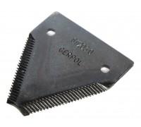 611203.0 Сегмент коси ( ножа ) жатки дрібний зуб GERPOL, 611203