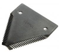 611203.1 Сегмент коси ( ножа ) жатки крупний зуб GERPOL, 611203