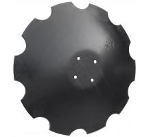 9771030251 Диск борони зубчатий 580*5mm 4отв d13 OFAS, 9771.03.025.1