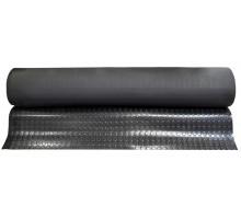 3*1200*10000 Мат ребристий гумовий, чорний S-8 SBR-NR ( 350208 ) GUFERO