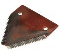 611203.1 Сегмент коси ( ножа ) жатки дрібний зуб Rasspe  / Radura, 611203