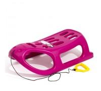 Санчата LITTLE SEAL рожеві, пластикові