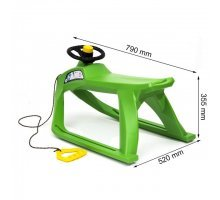 Санчата F1, зелені, пластикові