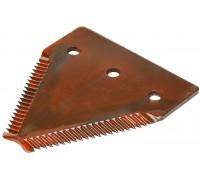 611203.1 Сегмент коси ( ножа ) жатки крупний зуб Rasspe / Radura, 611203, 417860