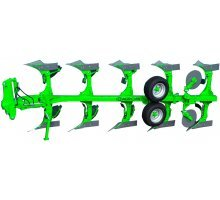 AGN 11-340 Plow hinged reversible 3 body (cutting bolts)