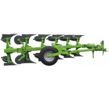 AGP 21-745 Плуг оборотний півнавісний 7 корпусний ( пружинний захист )
