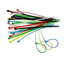 23-203 Набір кольорових затяжних ремінців 2.5*150мм (30шт.),  (хомут) VST