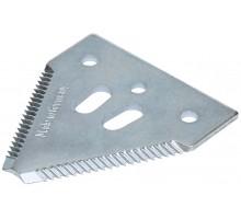 420100045 Сегмент коси крупний зуб ( ножа  ) SCH Rasspe  / Radura / 10961.06 /