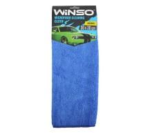 150100 Ганчірка з мікрофібри, 30*30см, синя