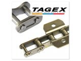 Roller chain and links TAGEX